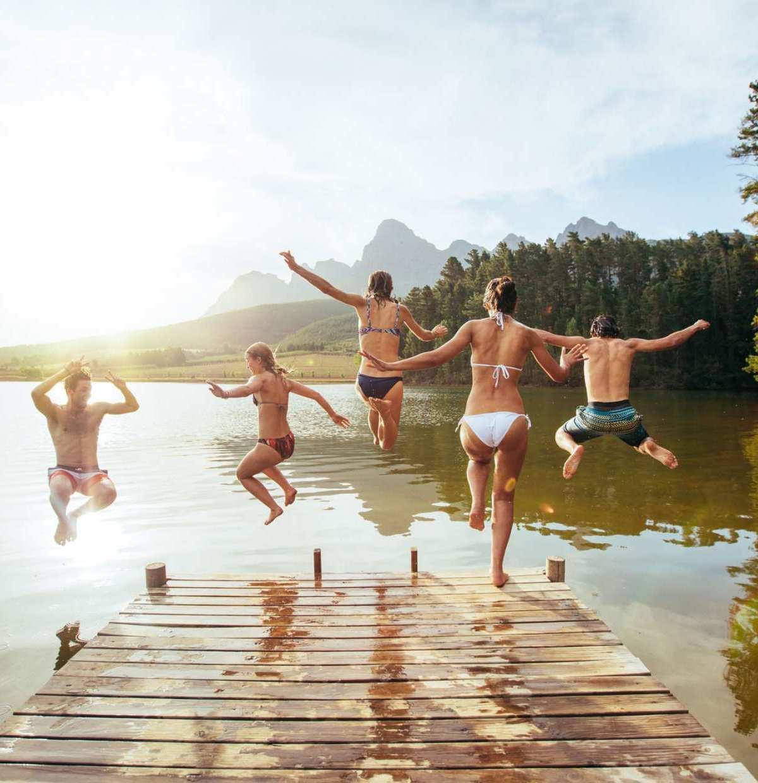 Pack die Badehose ein, es ist Sommer!