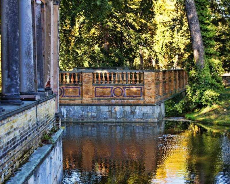 Potsdams Parks laden besonders in den angenehmen Spätsommertagen zum Verweilen und Flanieren ein.