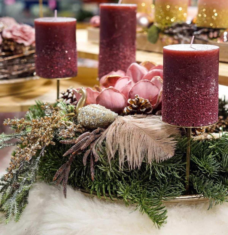 Ein Muss zur Adventszeit: der Kranz