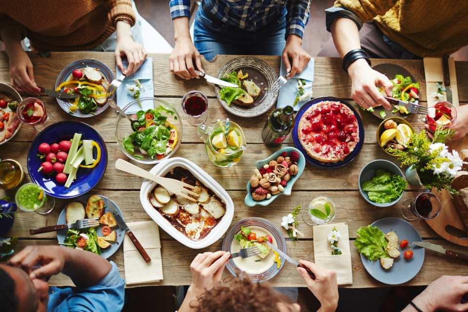 Tischlein deck dich – und zwar mit tollen, neuen Leckereien