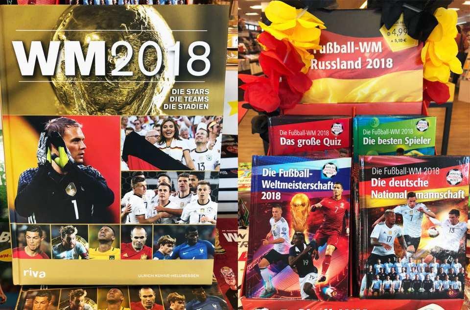 Mit verschiedenen Fußball-Büchern von P&B bist du bestens informiert