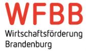 Logo Wirtschaftsförderung Land Brandenburg GmbH (WFBB)