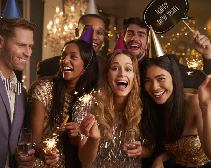 Es geht doch nichts über eine ausgelassene Feier ins neue Jahr
