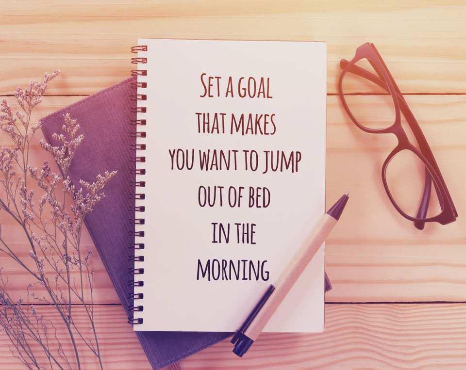 Bleiben Sie an Ihren Vorsätzen dran. Unsere Devise: Nicht aufgeben!