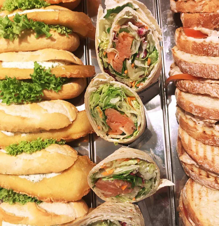 Köstliche Wraps und Bagels mit Lachs von Nordsee – lassen Sie es sich nicht entgehen, wenn Sie bei unserem Genusstag probieren dürfen, was das Herz begehrt.