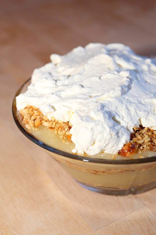 Skandinavisch gut, schnell gemacht und besonders lecker – der dänische Apfelkuchen im Glas.