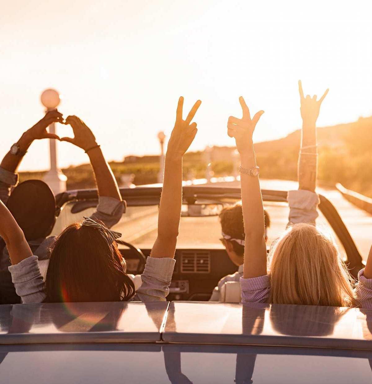 Sonne, Sommer, Sonnenschein – die beste Zeit, um das eigene Land zu erkunden!